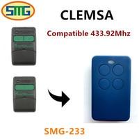 3X Free Shipping Clemsa Mastercode MV1 Universal Cloning Remote Control Replacement Fob 433 MHz Garage DoorHot