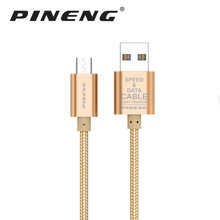 Pineng Micro USB Cable Fast Charging Mobile Phone Cable Adapter USB Data Charger Cable for xiaomi Samsung galaxy Android Phones