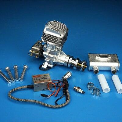 DLE35RA RC benzin motor einzylinder zwei hub auspuff natürliche wind gekühlt hand starten 35CC verschiebung-in Teile & Zubehör aus Spielzeug und Hobbys bei  Gruppe 1