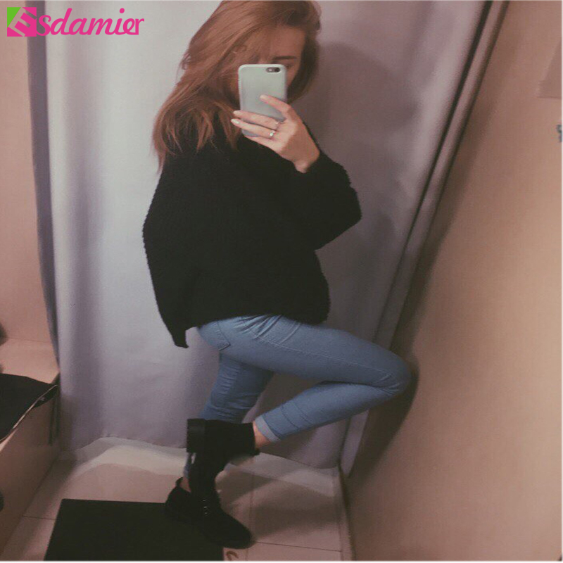 Hot Sale Push Up Jeans Woman Pencil Pants Vintage High Waist Jeans Women Casual Stretch Skinny