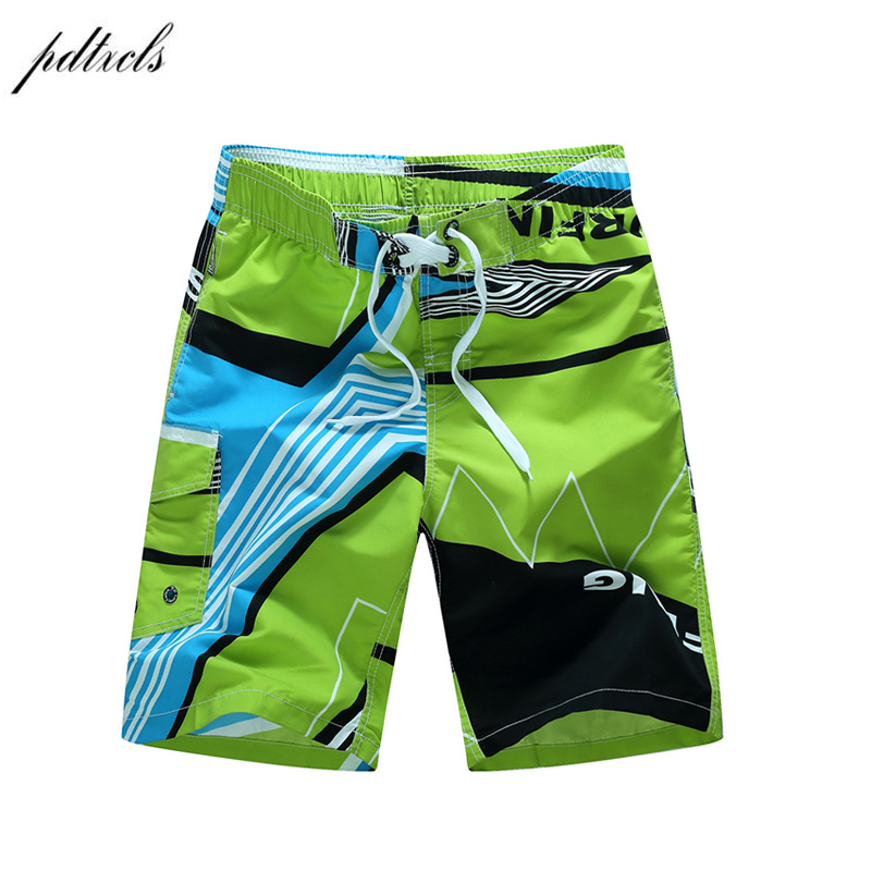 2020 New Summer Quick-drying Board Shorts Trunks Mens Beach Shorts Fashion Printed Beach Shorts  Cool Casual