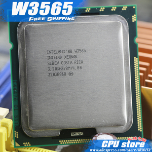 Intel Xeon W3565 CPU processor /3.2GHz /LGA1366/8MB L3 Cache/Quad-Core/ server CPU Free Shipping,there are, sell W3570 CPU