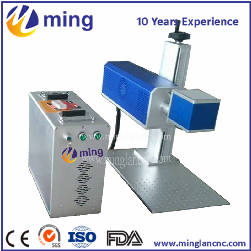 CO2 Portable Laser Marking Machine Laser Engraving and cutting Machine for Non-metal mini co2 laser machine with SYNRAD source