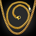 Mens Necklace Bracelet Set Dubai Jewelry Set Stainless Steel Curb Cuban Link Chain high Quality Jewelry 2016 Wholesale S002
