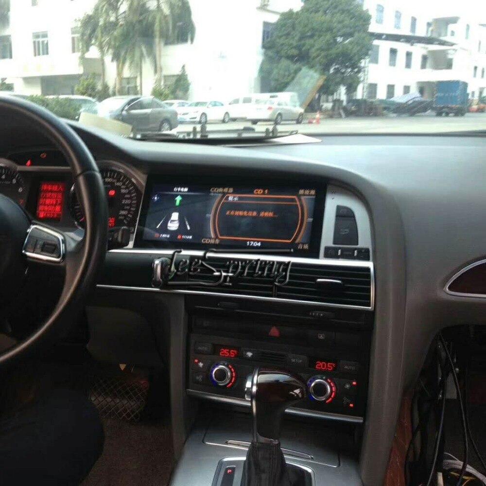 Lecteur multimédia de voiture Android 10.25 pouces pour la navigation gps automatique Audi A6L