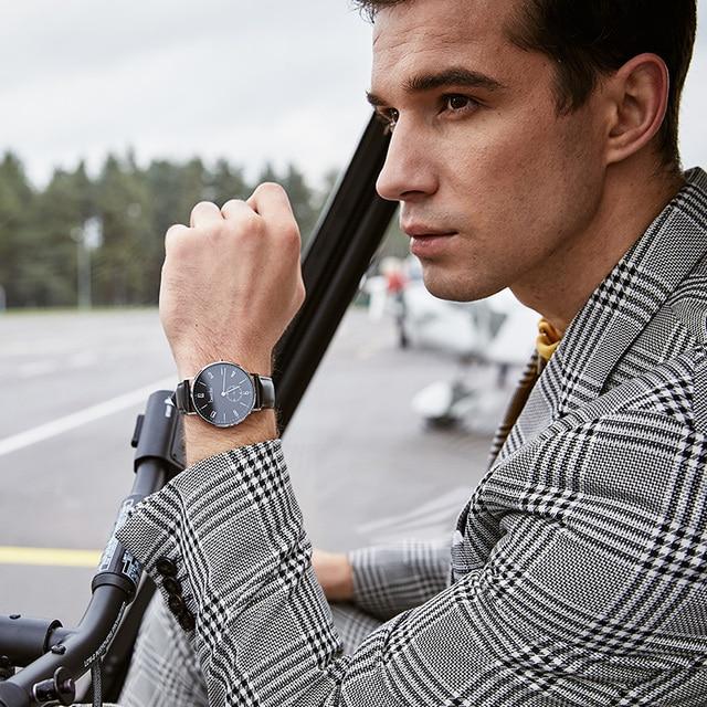 Bestdon montre hommes minimaliste étanche Quartz mouvement de luxe marque hommes montres décontracté classique montre-bracelet mâle nouveau 4