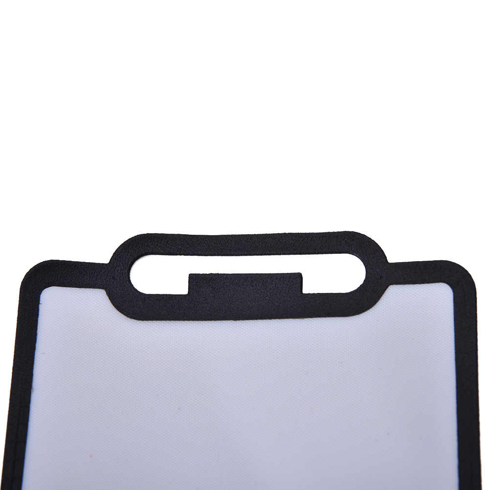 Wereldwijd Camera Flash Diffuser Softbox Black Clear Reflector voor Canon Nikon Yongnuo Speedlite