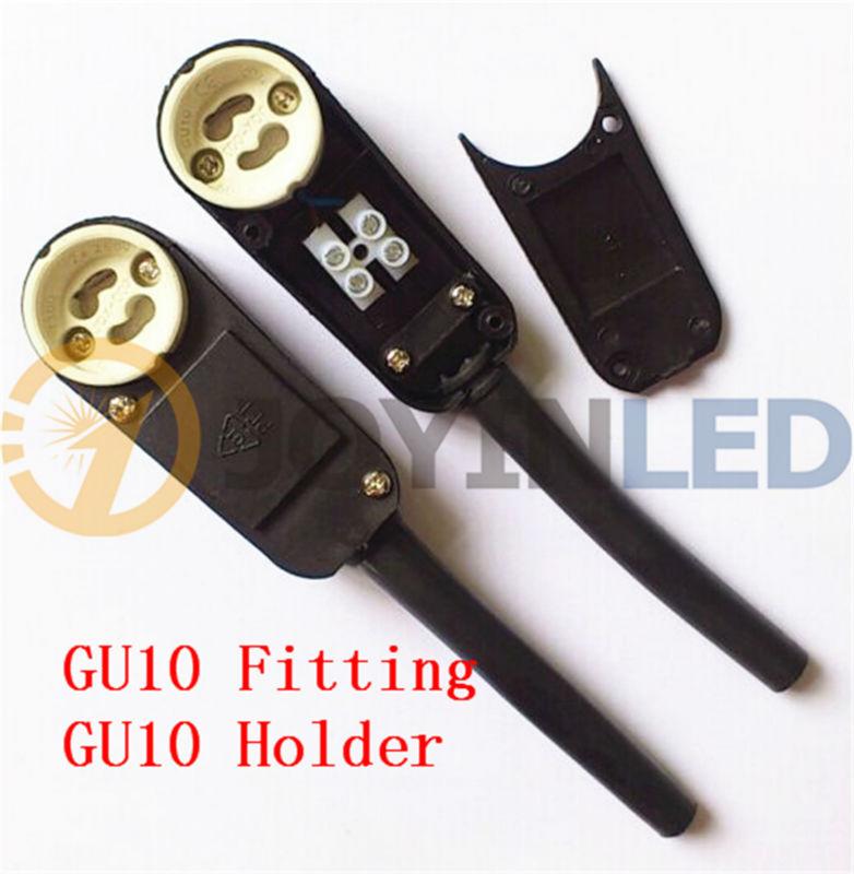 2/4/6 шт GU10 баз адаптер для лампового разъема Керамика держатель лампы GU10