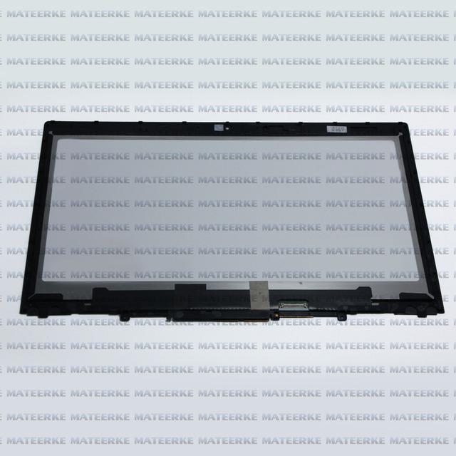 "Envío libre 14 ""para lenovo thinkpad x1 yoga lcd lp140qh1. spe1/vvx14t058j montaje de la pantalla táctil con el marco, 2560x1440"