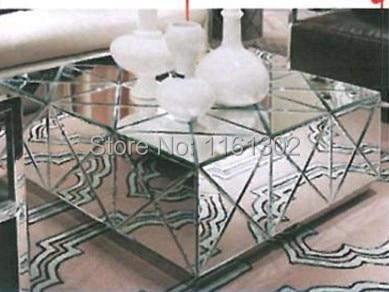 Moderne salontafel mr 401029 afgeschuinde spiegel in for Spiegel couchtisch