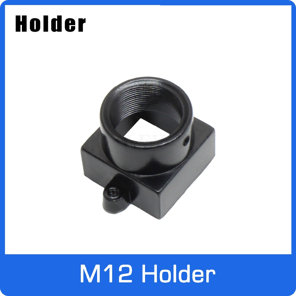 Full Metal M12 Mount Holder For M12 MTV Lens Support 20mm Hole Distance PCB Board Module or CCTV Camera 2pcs metal m12 lens mount mtv security cctv camera m12 lens holder bracket support board module for ccd ahd tvi 1080p mini cam