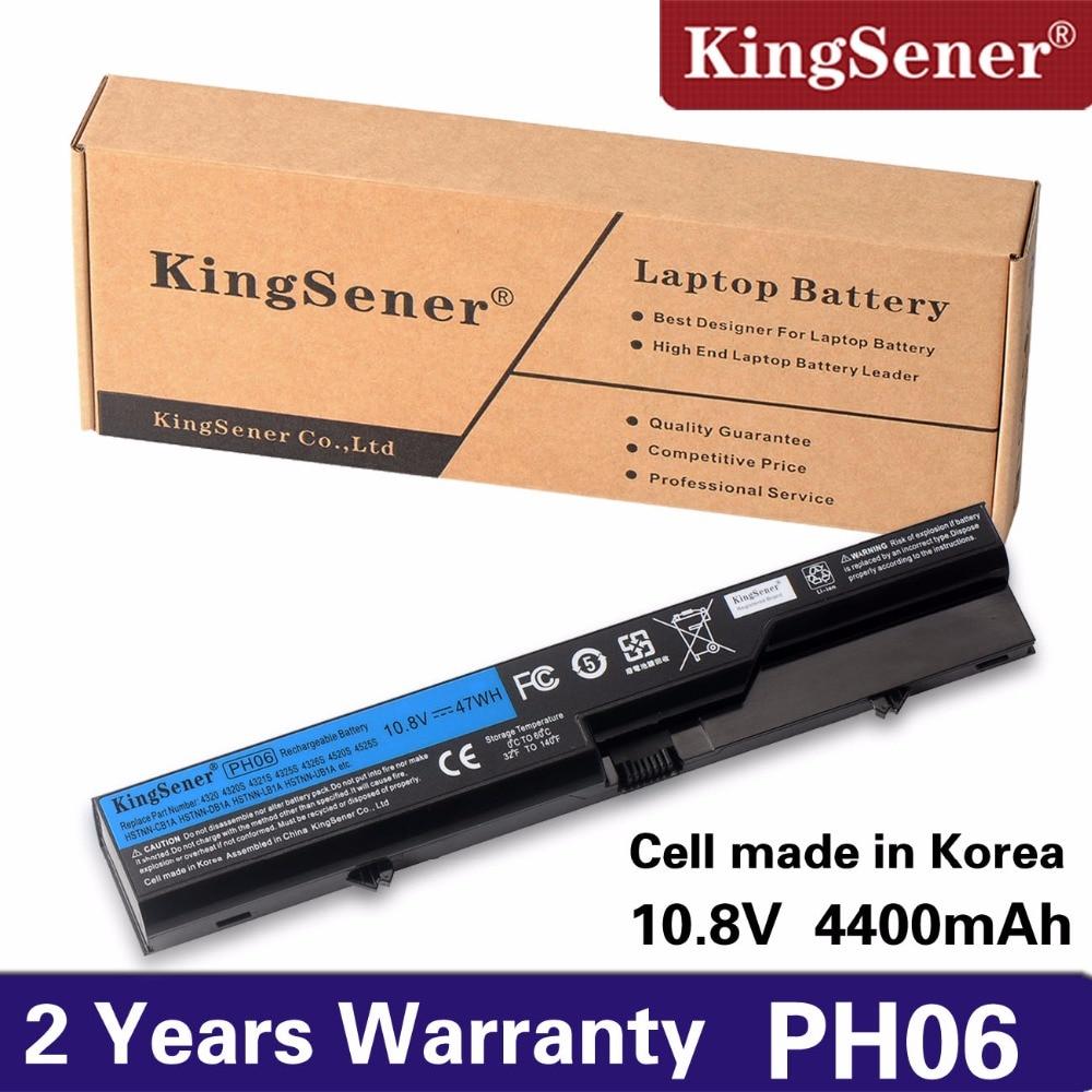 цена KingSener New PH06 Laptop Battery For HP ProBook 4325s 4320s 4320 4321s 4520s 4326s 4420s 4421s 4425s 4525S HSTNN-DB1A/LB1A/CB1A