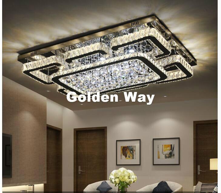 Len Kronleuchter Modern flower design living room l ceiling lights large luxury foyer