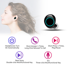 Bluetooth Headphones TWS Earbuds Wireless Bluetooth Earphones Stereo Headset Bluetooth Earphone With Mic and Charging Box