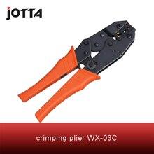 WX-03C crimping tool plier 2 multi tools hands Ratchet Crimping Plier (European Style)