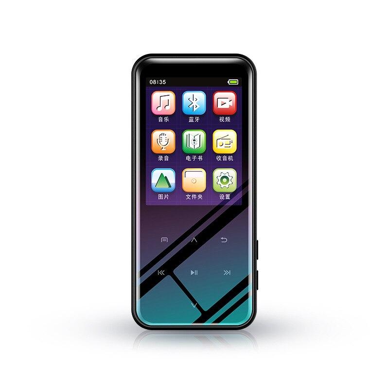 Mini Metal Mp3 Player Built-In 8G Bluetooth Hifi With Speaker Press Screen Fm Radio Usb Audio Running Walkman Sport