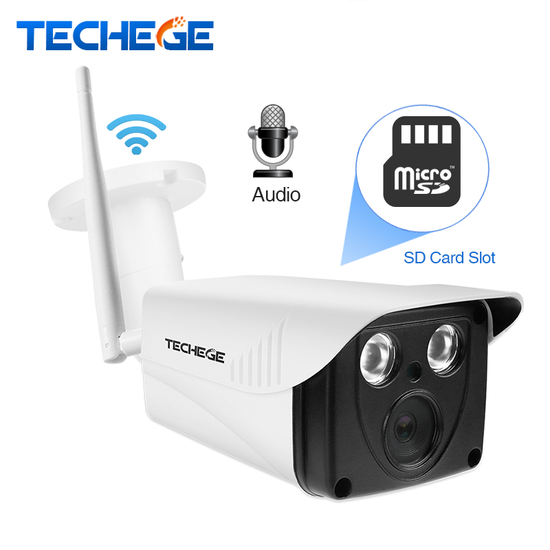 Techege 1080P HD WIFI IP Camera 1.0MP 2.0MP WiFi Camera Audio Record Motion Detect Nignt Vision 720P Wireless IP Camera Yoosee polished chrome widespread waterfall spout bathroom tub faucet dual handles tap