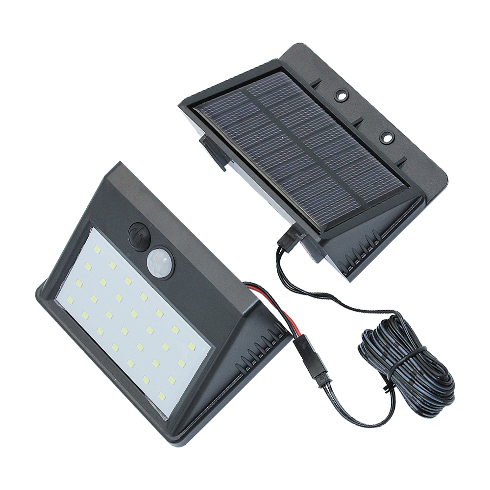 Outdoor 28 LED Solar Lamp Separable 3 Modes Waterproof PIR Motion Sensor Luz Solar Wall Light For Home Garden Street Decoration