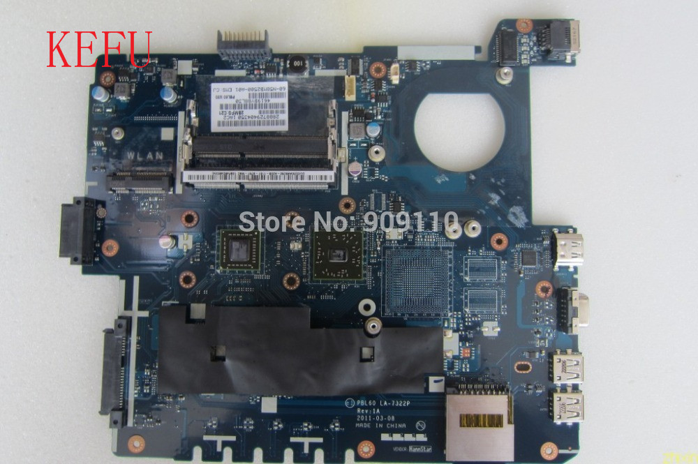 K53U X53U integrated motherboard for asus laptop K53U X53U PBL60 LA 7322P 100 full test