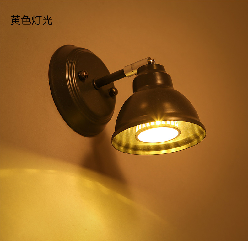 ФОТО American restaurant industry corridor adjustable iron  wall lamp  for stairs aisle warehouse living room