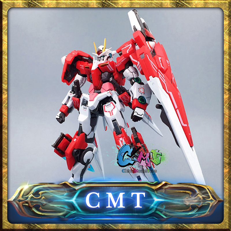 CMT MB Metal build Gundam 00 GN-0000 7S 00 Seven Sword Gear Red Inspection Model action figure mgs01 sword for transformer colour red