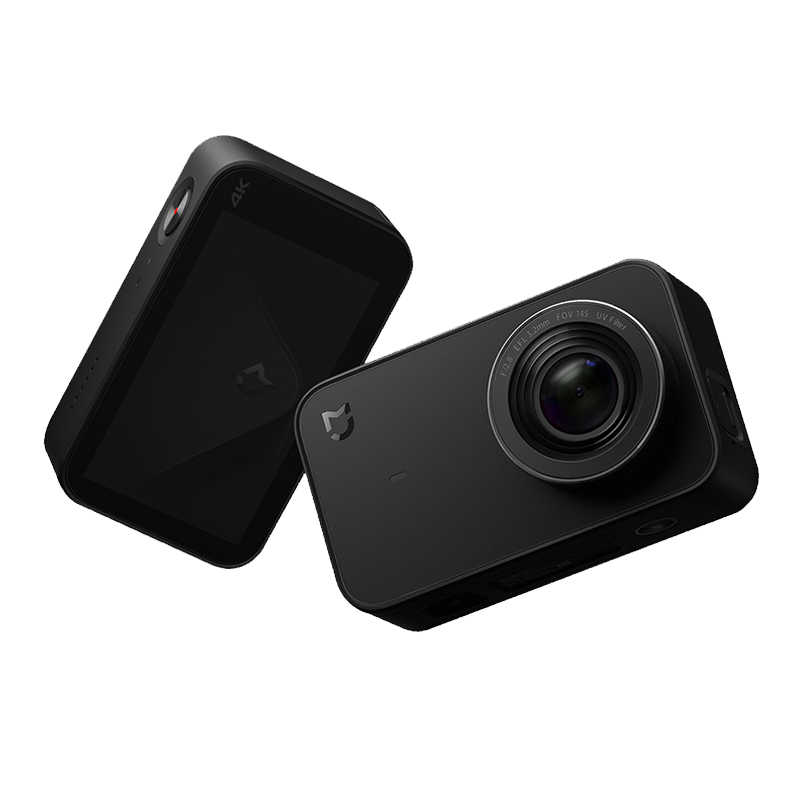 Английская версия Xiaomi Mijia мини Экшн-камера 4 K спортивная видеокамера запись WiFi цифровая камера s Bluetooth Ambarella A12S75