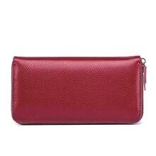 Женские кошельки, женские кошельки, кожаный кошелек-клатч, настоящий маленький кошелек, роскошные брендовые модные карты