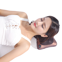 massage pillow for neck Device Shiatsu Body Massager Infrared Heating Kneading Car Home Multifunctional electric Massagem health