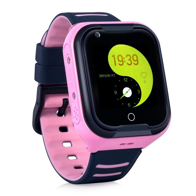 Wonlex KT11 Newest 4G Smart Watch Cheap Water Resistance IP67 Smart Phone Watch with GPD Device for Kids and Adults (EU-Version) 4