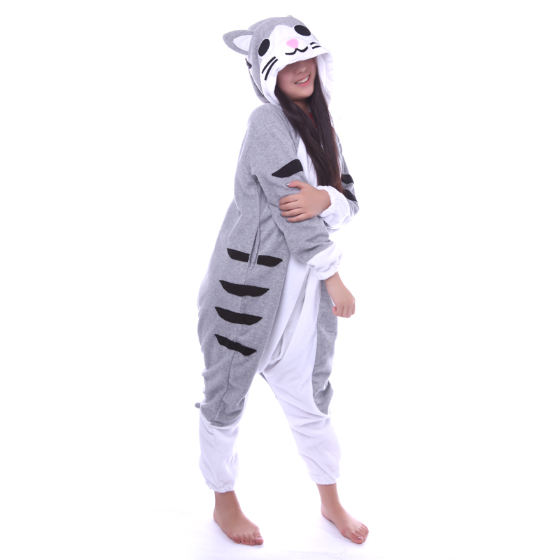 winter erwachsene frauen tier anime chi sua e kase katze pyjamas halloween christmas party onesies cosplay kigurumas pijamas in winter erwachsene frauen tier