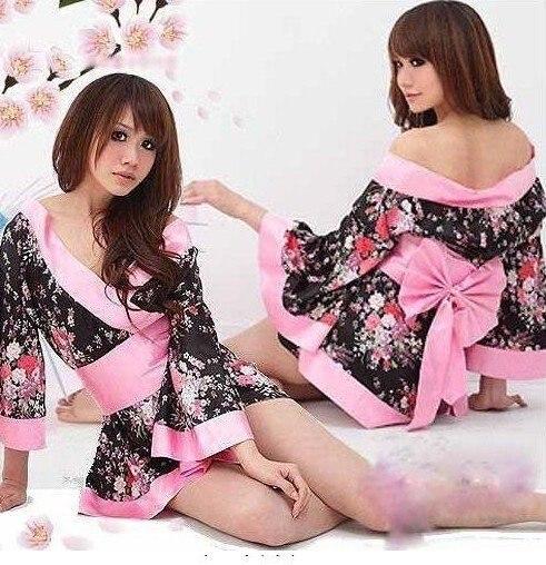 Free shipping!!Sexy Lingerie Kimono Dress Set.Free size.SleepwearUnderwear ,Uniform Temptation