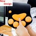 Nuevo diseño coño pies ratón loco con el resto de muñeca de silicona