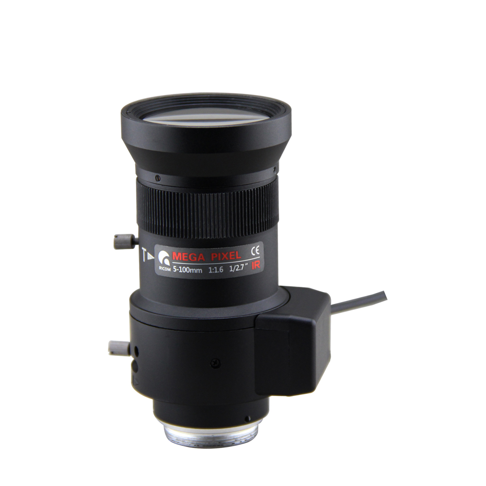 varifocal lens 5-100mm F1.6 1/2.7 Auto Iris 2mp cctv lens, CS mount lens for security box camera, Vari-focal lens цена