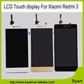 "Venta caliente el 100% de trabajo probado pantalla lcd + digitalizador asamblea de pantalla táctil del teléfono celular de 5.0 ""para xiaomi redmi 3 hongmi3 redmi3"