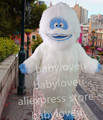 New christmas Abominable Snowman costume adult plush mascot costume cartoon character costumes for halloween party suit
