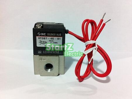 AC110V 1/8'' VT307-3G-01 Solenoid valve SMC цена