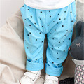 2016 Time-limited Top Loose Baby Leggings Girls Star Printing Candy Colored Casual Pants Pencil Elastic Waist L025
