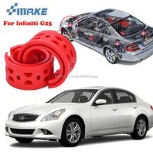 smRKE For Infiniti G25 High-quality Front Rear Car Auto Shock Absorber Spring Bumper Power Cushion Buffer