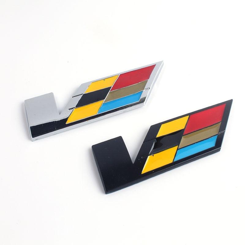 3d Metal V Cts Nuclear Powered Wtf Car Sticker Logo Emblem Badge