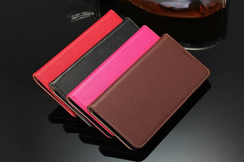 4 color genuine leather case for Samsung Galaxy Note5 cell phone