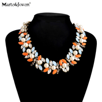 Gold Plated Leaves Pearls Necklace Pendant Color Collar Womens Pearl Chokers Necklace Fashion Accessories Brand Charms