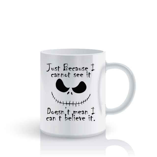 The Nightmare Before Christmas Mugs Tea Gifts Coffee Mug Ceramic Novelty Friend Home Decal