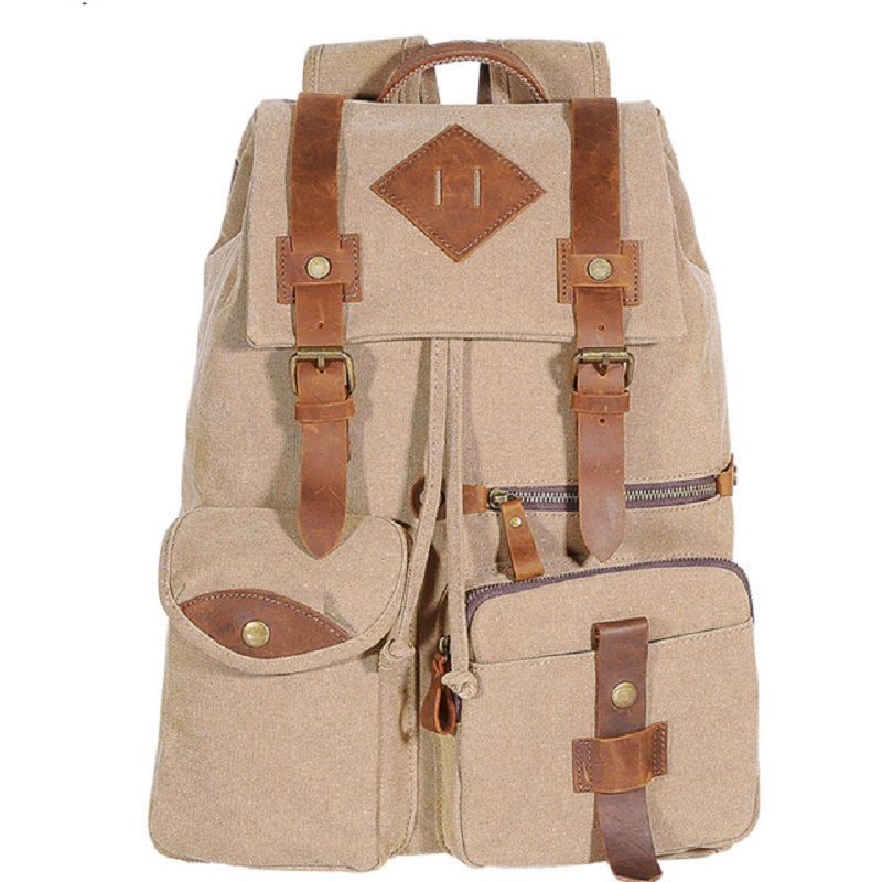 M248 New Mens Canvas Leather Real Cow Multi-Function Vintage Travel Backpack Tote School Bag Portable Carry Case Rucksacks M248 New Mens Canvas Leather Real Cow Multi-Function Vintage Travel Backpack Tote School Bag Portable Carry Case Rucksacks