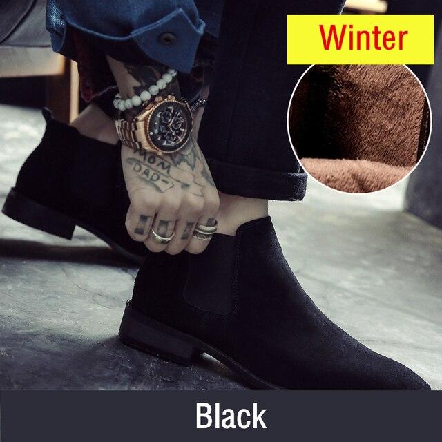 Acquistare Scarpe da uomo   Misalwa Chelsea Boots Men Suede