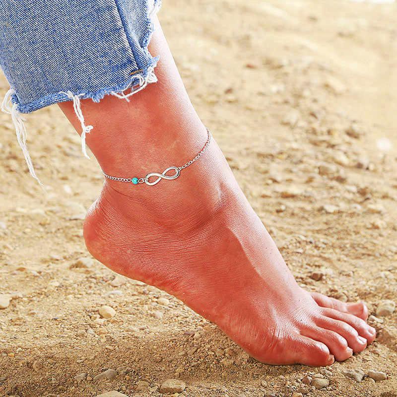 2019 Новые Модные Винтажные Многослойные женские браслеты для щиколотки слон Солнечный кулон очаровательные веревки цепи пляжные летние ноги лодыжки Bracel