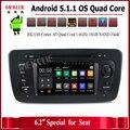 Quad-Core Android 5.1 dvd-плеер АВТОМОБИЛЯ навигация ДЛЯ SEAT IBIZA 2009-2013 car audio стерео Мультимедиа GPS поддержка БД