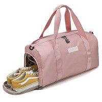 Gym Sports Bag Women Men Fitness For Bags Yoga Nylon Sport Travel Training Ultralight Duffle Shoes Small Sac Sport Bag tasche