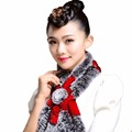 Winter Warm Scarf For Women Natural Rabbit Fur Scarf Plus Size Wrap Cape Shawl Girls Warmth Neck Protect Fashion Brand scarves