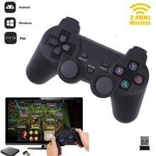 Cewaal хит 2,4G беспроводной геймпад пк для PS3 tv Box джойстик 2,4G джойстик игровой контроллер пульт дистанционного управления для Xiaomi Android