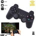 Cewaal Горячая 2,4G Беспроводной геймпад для ПК для PS3 ТВ коробка джойстик 2,4G джойстик игровой контроллер пульт дистанционного управления для Xiaomi Android - фото